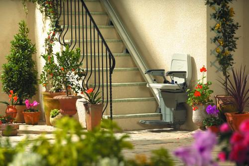 Stannah 320 Outdoor Stair Lift