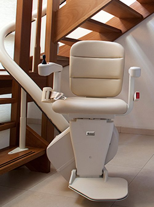 Handicare Freecurve Curved Stairlift